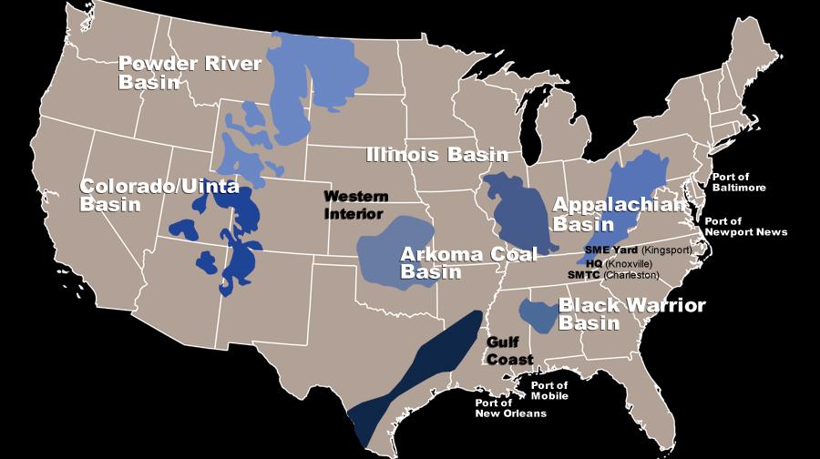 Smoky Mountains Usa Map My blog